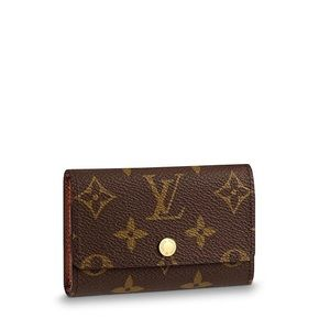 Louis Vuitton Monogram 6 Ring Key Holder
